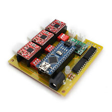 USB CNC 3 Axis Stepper Motor Driver Board Controller For DIY Laser Engraver