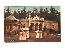Alte Ansichtskarte Postkarte Alexandersbad Stahlquelle nicht gelaufen