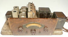 vintage * ATWATER KENT TYPE L CHASSIS RADIO - untested, NICE KNOBS, no tubes