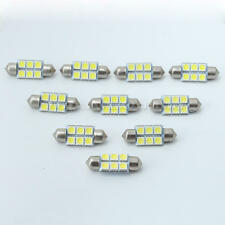 10x DC 12V 2W 36mm SMD LED 6 Ampoule Lampe Festoon Blanc Auto Voiture Car