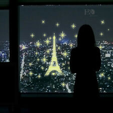 Romantic Eiffel Tower Noctilucent Wall Sticker Quote Removable Fluorescenc Decal