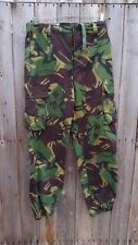 BRITISH TROPICAL DPM PATTERN TROUSERS - 80/88/100 - 34 1/2 INCH