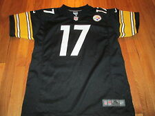 NIKE NFL ON FIELD PITTSBRUGH STEELERS MIKE WALLACE JERSEY SIZE YOUTH XL