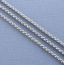 3ft Stainless Steel Findings Rolo Link opened Cable Chains 2.5mm Jewelry making