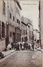 France Toul  - Rue de la Monnaie old postcard