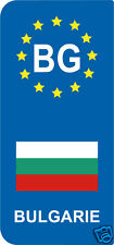 2 Stickers Europe  BG България BULGARIE