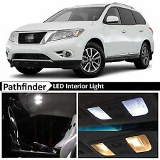16x White Interior LED Lights Package Kit for 2013-2016 Pathfinder + TOOL
