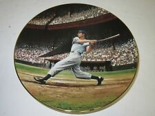"Vintage DELPHI Baseball Collector Plate ""Joe Dimaggio The Streak"" LE701C"