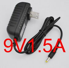 AC Converter Adapter DC 9V 1.5A Power Supply Charger US 4.0mm x 1.7mm 1500mA New