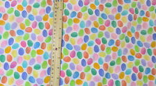 lightweight cotton fabric muulti color Jelly Bean Easter Candy dot pastel BTHY