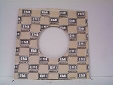 3-EMI RECORD COMPANY 45's SLEEVES (TAN)  LOT #210