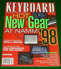1998 KMFDM, KURZWEIL K2000/K2500 Keyboard Tips, Q-Tron, DON GROLNICK Jazz Class