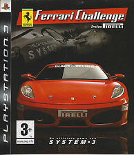 FERRARI CHALLENGE for Playstation 3 PS3 - with box & manual
