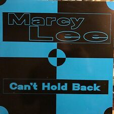 MARCY LEE • Can't Hold Back • Vinile 12 Mix • 1992 NO SOUND