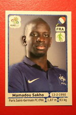 Panini EURO 2012 N. 467 FRANCE SAKHO NEW With BLACK BACK TOPMINT!!