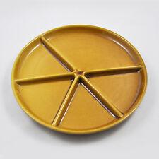 Melitta Fondueteller / 24,5cm Durchmesser / Braun / Fondue Raclette Teller