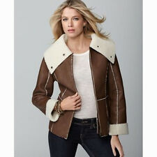 Style & Co NWT  Oversized Collar Faux Shearling Jacket  PS