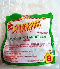 1994 Vintage McDonald's Happy Meal Spiderman Hobgoblin Landglider #8  MIP C10!