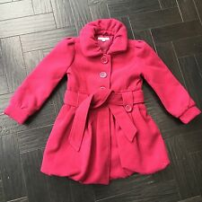 Fuschia Pink Girls Winter Coat Age 5