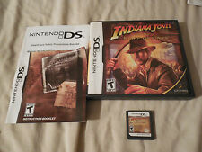 INDIANA JONES AND THE STAFF OF KINGS NINTENDO DS COMPLETE & TESTED