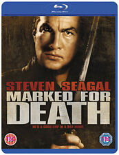 MARKED FOR DEATH (Steven Seagal) - BLU-RAY - REGION B UK