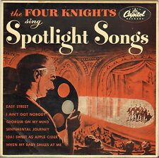 "THE FOUR KNIGHTS ""SPOTLIGHT SONGS"" DOO WOP 50'S EP CAPITOL EAP 2-346"