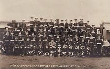 Soldier Group 74th Motor Transport Company Army Service Corps ASC Aldershot 1911