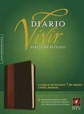 Biblia de Estudio Del Diario Vivir NTV (2015, Imitation Leather)