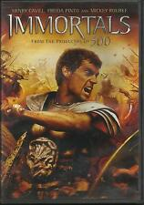 Immortals - DVD Like NEW Henry Cavill From Producers of 300! Free Ship