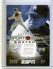 ERIC GAGNE Dodgers 2005 Upper Deck ESPN Sports Center Game-Worn Jersey Swatches