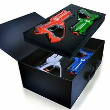 NEW Legacy Toys Laser Tag Blasters Set for Kids Multiplayer 4 Pack Family Game