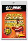 Grabber Body Warmers, 4 Packs, Peel N' Stick, 12+ Hrs, Air Activated #AWES