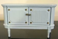 LUNDBY DOLLHOUSE VINTAGE DINING-ROOM SIDEBOARD/BUFFET—RARE BLUE EDITION