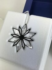 SWAROVSKI CHRISTMAS ORNAMENT, SILVER STAR MIB #5064261