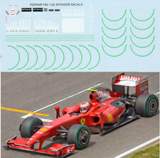 1/20 FERRARI F60 BARCODE FOR TAMIYA KIT DECALS TB DECAL TBD10