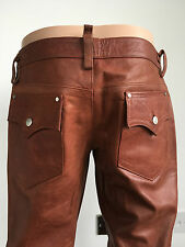Rarest Dsquared2 Leather Biker Pants Jeans Trousers Dsquared Stunning Quality