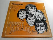 Introducing Penny Arcade Ex/NM Vinyl LP Record 1978 Signed By Band Deroy 1442