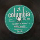 78rpm MICHAEL HOLLIDAY the story of my life / keep your heart