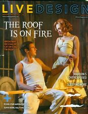 2013 Live Design Magazine: Cat On A Hot Tin Roof/Maroon 5 Overexposed/Super Bowl
