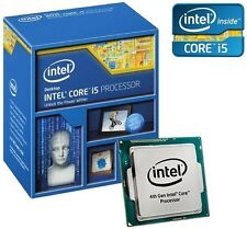 NUOVO INTEL CORE I5-4590 CPU Quad Core Socket 1150 84W 3,3 GHz > 3.7 GHZ 6 MB cache