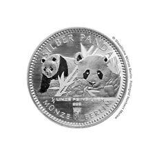 0,5 pouces Chine Panda 2016 Pièce de monnaie Berlin 999 Silber Médaille Edition