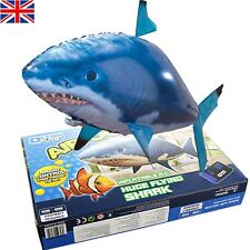 Air Swimmer grand flying shark radio télécommandé gonflable poisson rc jouet uk