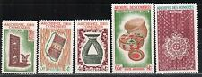 1963 French colony stamps, Comoro Islands, full set MH, SC57-9 C8-9