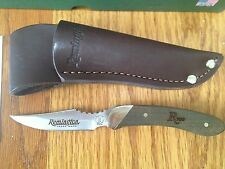 REMINGTON 700 SERIES CAPER KNIFE WALNUT WOOD HANDLE MADE IN USA BOX NEW
