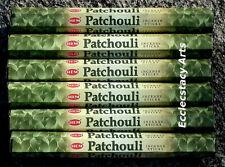 Hem Patchouli Incense Sticks 6 x 20 Stick Box, 120 Sticks NEW Patchouly Incense