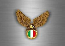sticker car auto moto tuning decal jdm macbook flag eagle biker italy italia