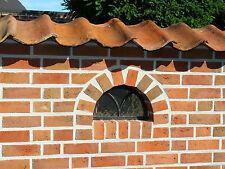 Großes,Halbkreis, Gussfenster Gotik Stallfenster Gußfenster 80cm x 42cm