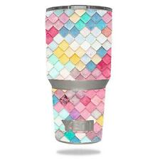 Skin Decal Vinyl Wrap for YETI 30 oz Rambler Tumbler cover sticker Colorful Tile