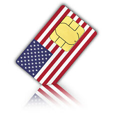 Standard SIM Card for the USA and Puerto Rico 500 MB & unlimited int. calls