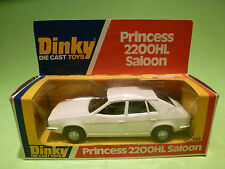 DINKY TOYS 123 PRINCESS 2200HL SALOON - WHITE - RARE SELTEN - GOOD COND. IN BOX